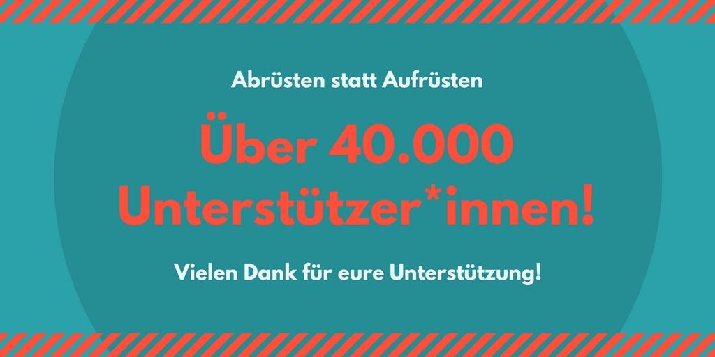40.0000 Unterstützer*innnen